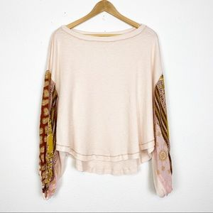 ✨Free People ✨ Blossom Thermal Long Sleeve Top 🌸